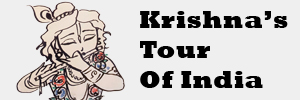 Krishnas Tour of India